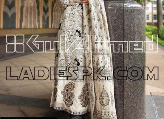 New Gul Ahmed Lawn Kameez Pajama Designs for Girls 2013