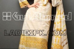 Gul Ahmed Lawn Women Kameez Pajama Design Girls Summer 2013