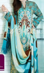 gul ahmed pashmina shawl 4800 fallwinter collection 2013 150x249 Gul Ahmed Fall Winter Khaddar Magazine Collection 2013 vol 2