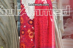 Eid Collection 2013: Gul Ahmed Eid ul Fitr Girls Clothes Design