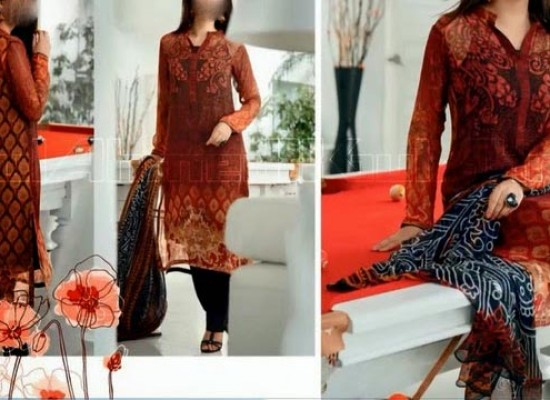 Gul Ahmed Royal Festive Collection Eid 2014 Shalwar Kameez