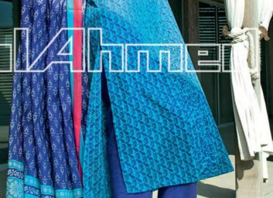 Long Shirts for Girls 2013 Gul Ahmed Summer Lawn Vol 3