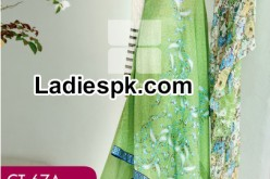 Gul Ahmed Summer Fancy Silk dress Collection 2014 with Prices