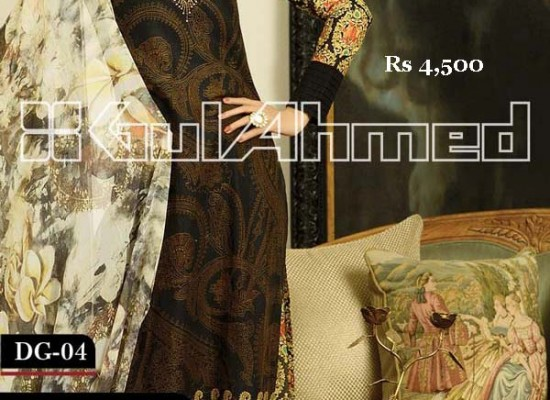 Gul Ahmed Eid Collection 2013 With Price for Women, Girls