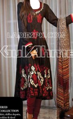 gulahmed chiffon dresses for girls 2013 c13 rs 7200 150x245 Gul Ahmed Summer Collection 2013 Grils Kurta Volume 2