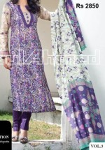 gulahmed g women lawn collection 2013 shirts prices 150x215 Long Shirts for Girls 2013 Gul Ahmed Summer Lawn Vol 3