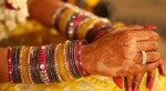 indian pics glass bangles for mehndi marriage wedding 150x82 Gold Diamond Bangle with Stones for Wedding Party 2013 Pics
