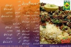 Jhatpat Chicken Biryani Recipe in Urdu English  Masala TV