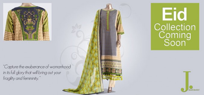 JJ. Junaid Jamshed Eid Lawn Prints Collection 2013