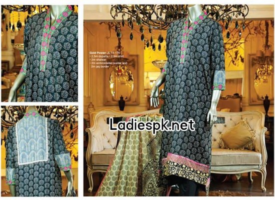 JJ Junaid Jamshed Eid Collection 2014 Catalogue for Girls Women