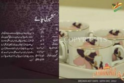 Kashmiri Chai recipe by Shireen Anwar