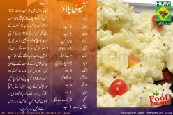 Kashmiri Pulao Recipe in Urdu English Rida Aftab Masala TV