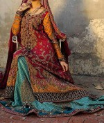 latest bridals dresses fashion trend in pakistan 2014 collection 150x178 Latest Pakistani Bridal Dresses Collection 2014 for Walima