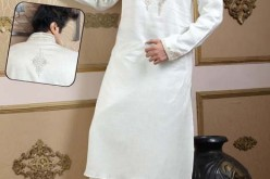 Embroidered Kurta for Men Designs White