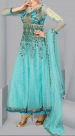 latest formal frock dresses desi boutique 2013 150x271 Beautiful Plates Wali Frocks Style Designs For Girls India