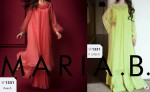 latest maria b eid collection 2013 double shirt frock in pakistan 150x92 MARIA B Beautiful Fancy Eid Collection 2013 for Girls & Women
