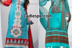 Libas Lawn Collection 2013 Price Women's Long Shalwar Kameez