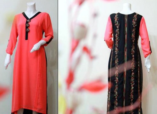 Long Kurta Style for Girls 2013