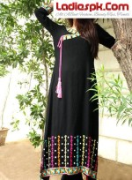 long kurtis designs kurtas fashion for girls 2013 style 150x204 Long Kurta Style for Girls 2013