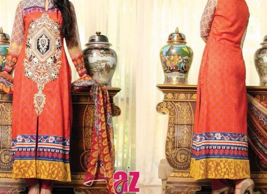 Mahnoor Lawn Eid Collection 2013 for Women – Al-Zohaib
