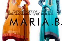 Evening Dresses 2013 Designer Maria B Collection for Girls