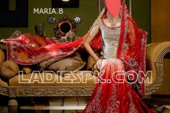 MARIA.B Red Lehenga for Wedding