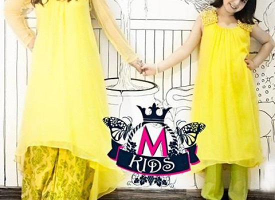 maria-b-eid-collection-2013-tail-dresses-in-pakistan-yellow-550x400_c