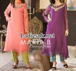maria b evening party wear dresses 2014 with prices shalwar kameez design fashion 2015 pkr 8625 150x141 Evening Dresses 2013 Designer Maria B Collection for Girls