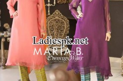 Maria B Evening & Party Wear Dresses 2014 with Prices