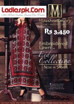 mausummery embroidered lawn eid ul fitr collection 3450 2013 price 150x211 Pakistani Designers Summer Lawn Collection 2012