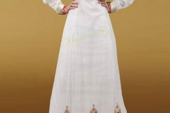Maysoon Eid Collection 2013 for Women: Girls Frocks Party Wear