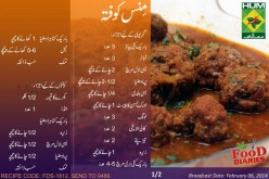 Mince Kofta Recipe in Urdu English Rida Aftab Masala TV