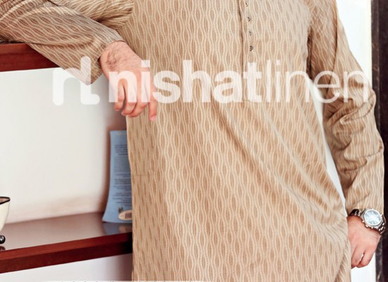 Naqsh By Nishat Linen Men Eid Kurta Collection 2013