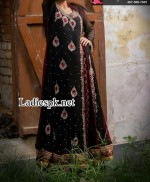 new angrakha style dress shirt forck in black for wedding 2014 2015 latest party dresses in pakistan india fashion 150x182 Angrakha Style Bridal Wedding Dresses 2013 by Nomi Ansari