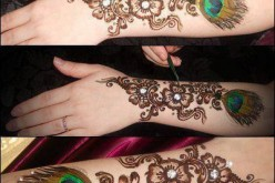 Latest Bridal Mehndi Designs 2014 For Girls Hands Images Pics