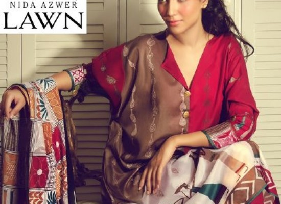 Nida Azwer Limited Edition Lawn Collections 2013