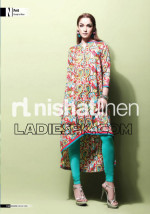 nishat linen 2013 gown tights pajama 150x214 Nishat Lawn Summer Dresses Collection 2013 for Women