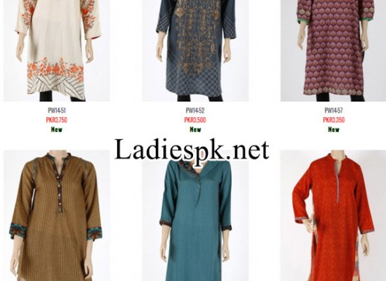 Nishat linen Winter Dresses Collection 2014 2015 Price for Women
