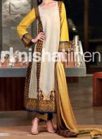 nishat linen eid collection 2013 lawn ruffle chiffon 13 150x203 Nishat Linen Fancy Eid Collection 2013 Design for Women