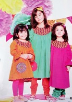 nishat linen eid collection summer 2013 for kids 14 150x211 Kids Frock Designs for Girls