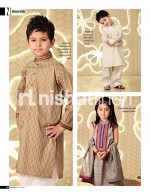 nishat linen kids eid collection 2013 kurta for girls and boys 150x195 New Shalwar Kameez Designs For Kids Boys 2013 by Junaid Jamshed