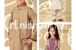 Eid Collection 2013 for Kids, Boys Kurta Girls Kurti Designs
