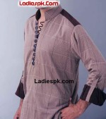nishat naqsh men shalwar kameez kurta for boys 2013 150x169 Nishat Naqsh Piping Kurta Shalwar Kameez Design 2013