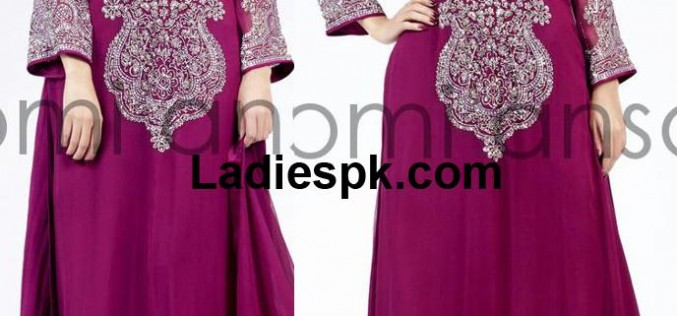 Nomi Ansari Latest Fancy Party Wear Dresses Collection 2013