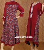one long tail gown shirts fashion in pakistan for women girls 2013 150x170 Tail Gown Dresses Style in Pakistan