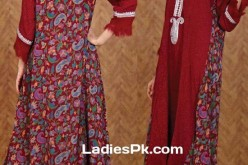 Long Tail Gown Shirts Fashion in Pakistan for Women & Girls