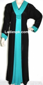 pakistani gowns abaya 2013 fashion 150x293 Abaya Design in Dubai Burka Collection