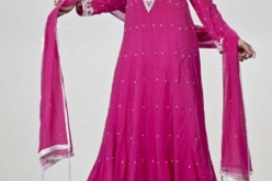 Pakistani Maxi Style Dress for Wedding, Party 2014 2015 Fashion