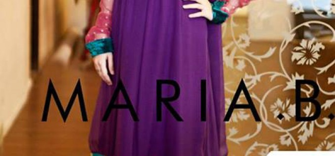 MARIA B Beautiful Fancy Eid Collection 2013 for Girls & Women