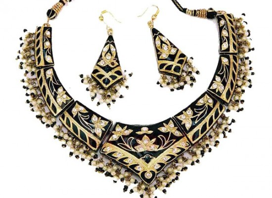 Necklace Earrings Design 2013 for Women Girls in India